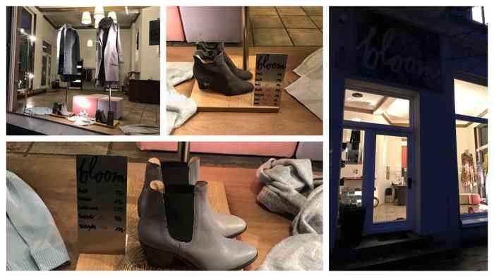 Bei bloom im Eppendorfer Weg 56 findet Ihr neben coolen Labels auch Schuhe und Accessoires.