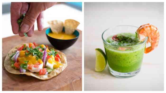 Tacos, Quesadillas und Ceviches - scharfe Küche für coole Brautpaare.