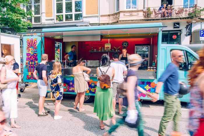 Der bunte Food Truck von Casita Oaxaca.