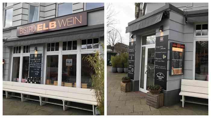 Das Bistro ElbWein im Eppendorfer Weg 161 serviert Burger, Flammkuchen, Blechkuchen und natürlich köstliche Weine.
