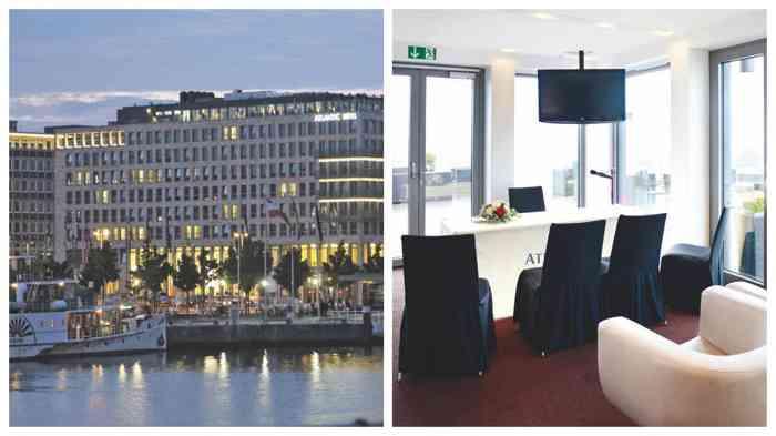 Die RoofLounge Bar Deck 8 des Atlantic Hotels Kiel ist ein cooler Ort zum Ja sagen.