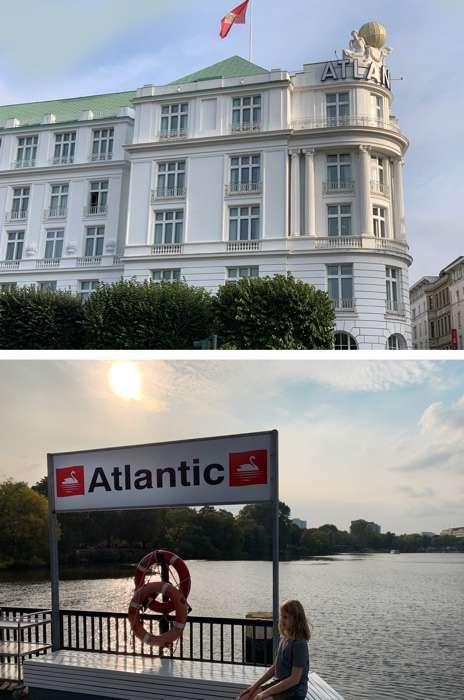 Das Hotel Atlantic Kempinski wird auch das weiße Schloss an der Alster genannt.