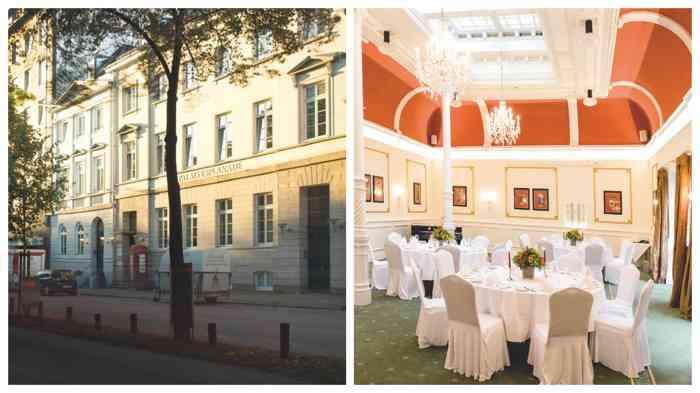 Zum Hotel Baseler Hof gehört auch das Palais Esplanade.