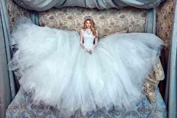 Für welches Brautkleid wird sich Meghan Markle entscheiden? Das Label Galia Lahav bietet exklusive Designs an.