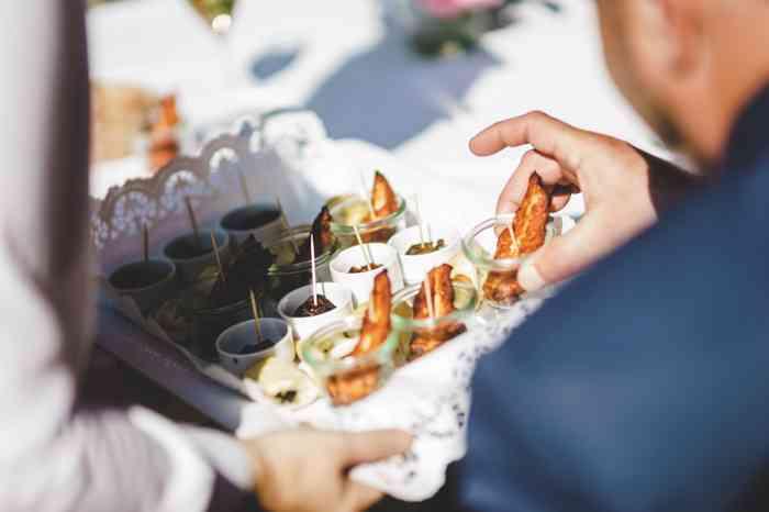 Heide Hotel Reinstorf Hochzeitsessen Fingerfood
