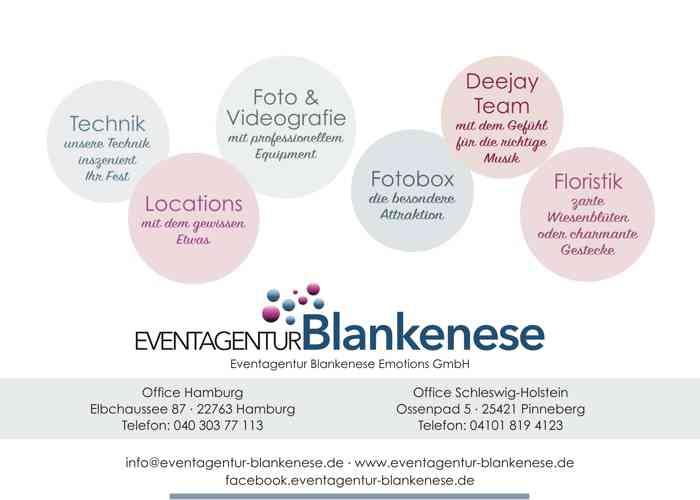 Eventagentur Blankenese Entertainment Vistenkarte