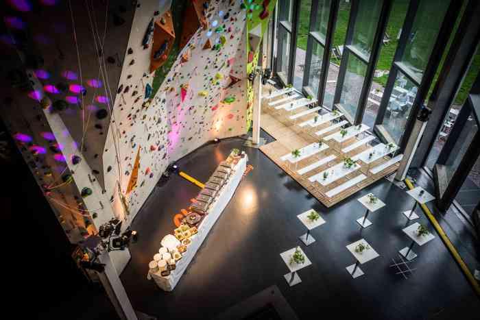Hochzeitslocation Nordwandhalle präsentiert von Eventagentur Blankenese.