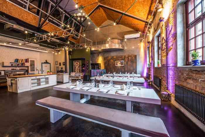 Hochzeitslocation Bullerei - Studio präsentiert von Eventagentur Blankenese.