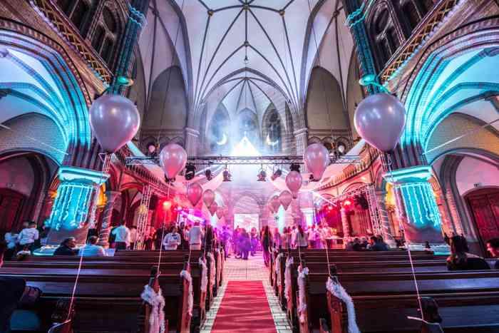 Hochzeitslocation Kulturkirche Hamburg Altona präsentiert von Eventagentur Blankenese.