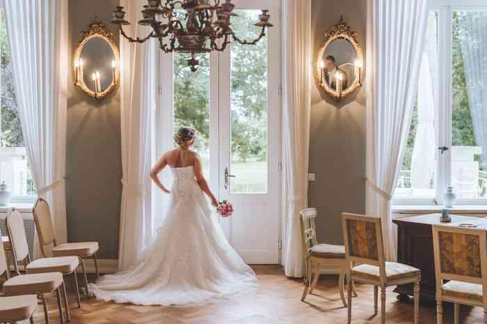Rittergut von Holle Trausaal mit Braut