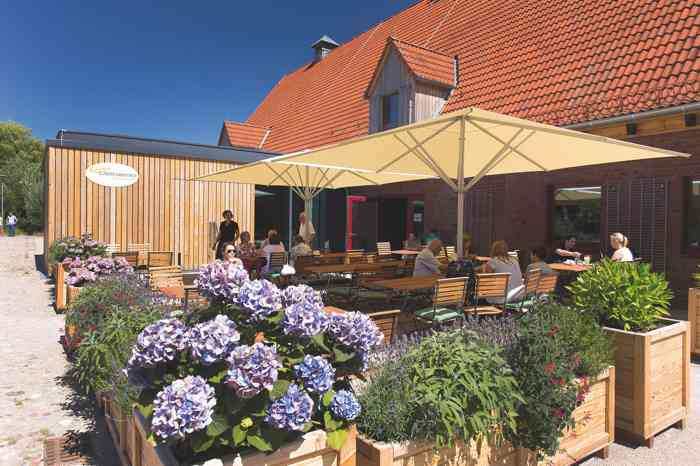 Kleinhuis Gartenbistro auf Gut Karlshöhe