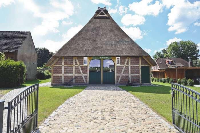 Heimatmuseum Sprötze ist Außentraustelle vom Standesamt Buchholz in der Nordheide