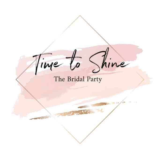 Time to shine – the Bridal Party