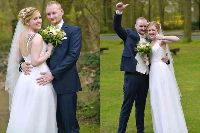motiv pictures Brautpaarshooting nach der Trauung