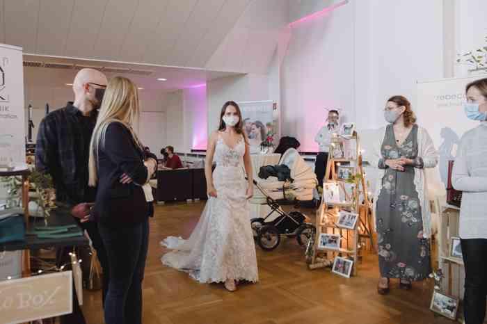 Wedding Bash 2021 Kurhaus Warnemünde Modenschau