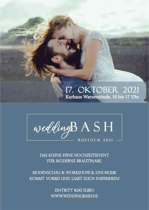 Wedding Bash 2021 Kurhaus Warnemünde