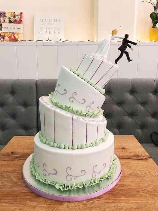Ausgefallene Hochzeitstorten im Topsy Turfy Style
