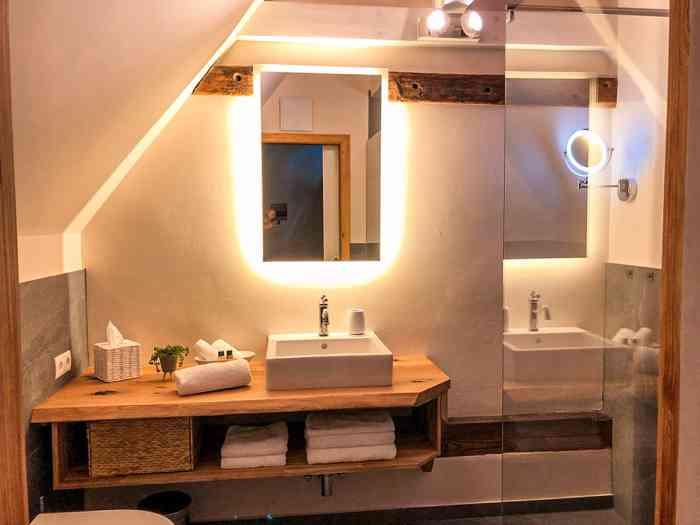 Gut Bielenberg Suite Badezimmer