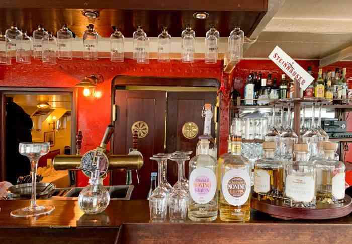 Die Bar im Das Feuerschiff .