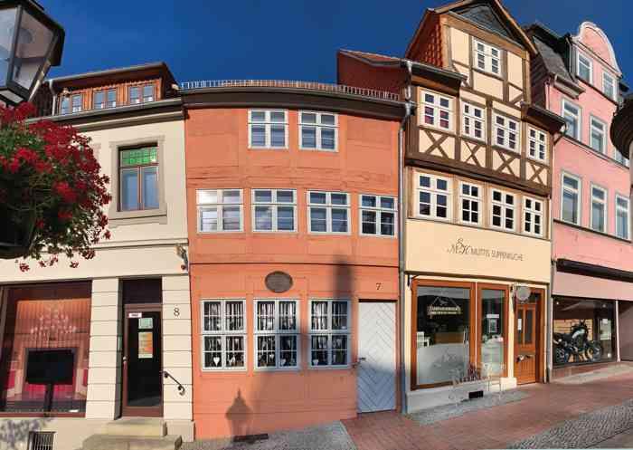 historischeTrauzimmer im ältesten Wohn- und Geschäftshaus der Stadt