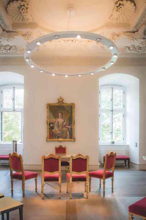 Trauzimmer im Schloss Celle