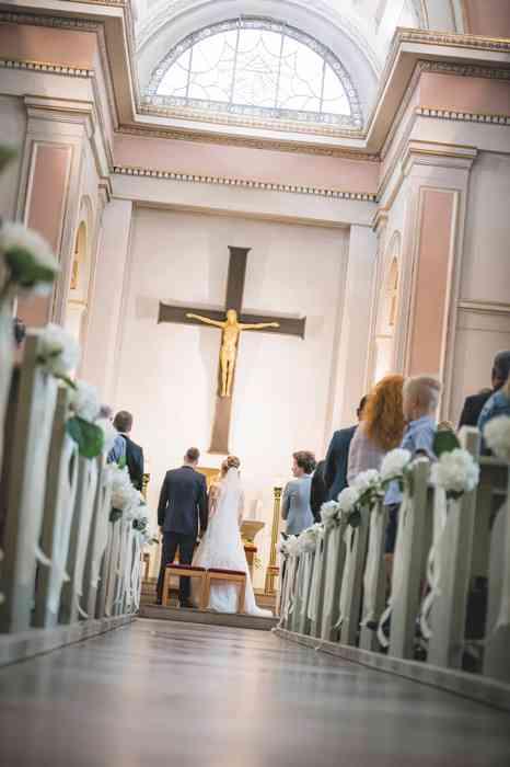 Hochzeit Simone & Kevin kirchliche Trauung