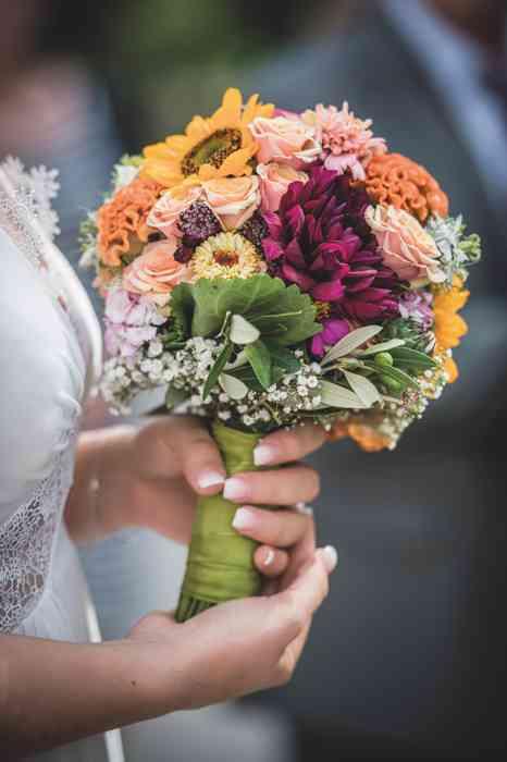 Brautstrauß von Blütenbinderin Viktoria Katharina Witte