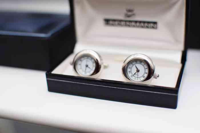 Böttjer Mode für Männer Gnarrenburg Manschettenknöpfe Uhren