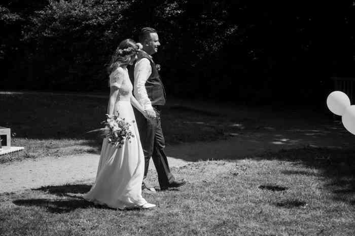 Hochzeit in Niedersachsen Brautpaar
