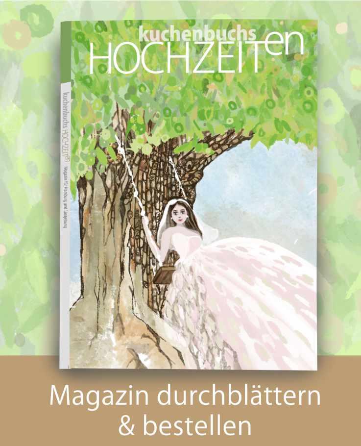 Titel Magazin Hochzeit in Hamburg