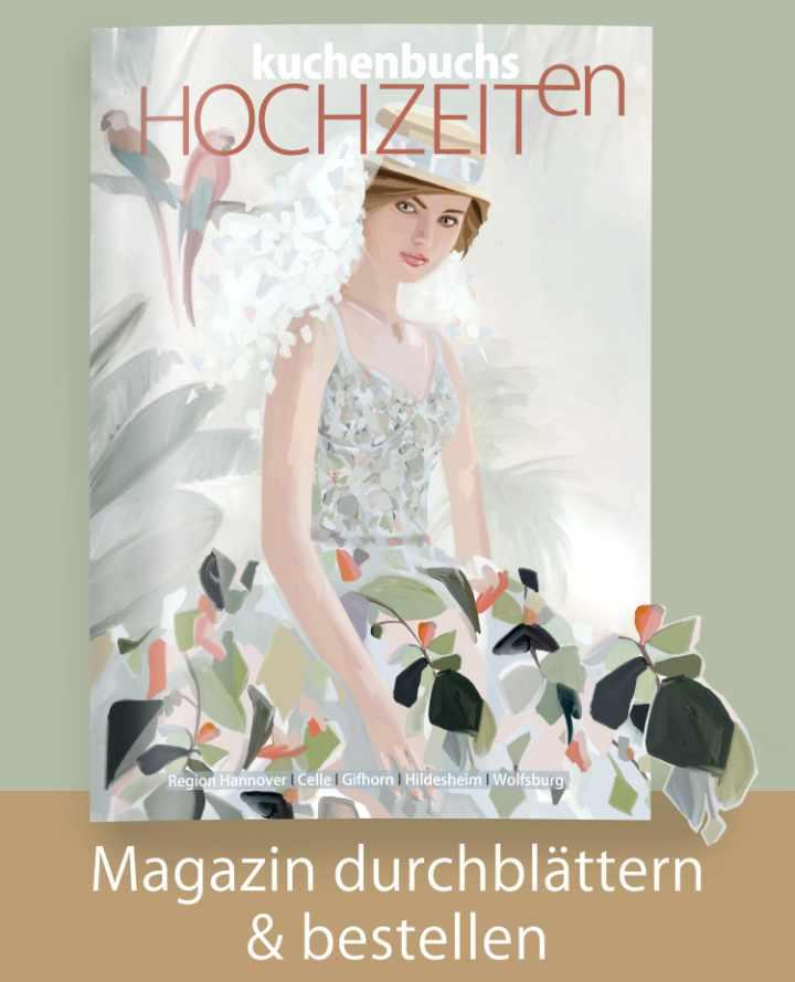 Titel Magazin Hochzeiten in Hannover