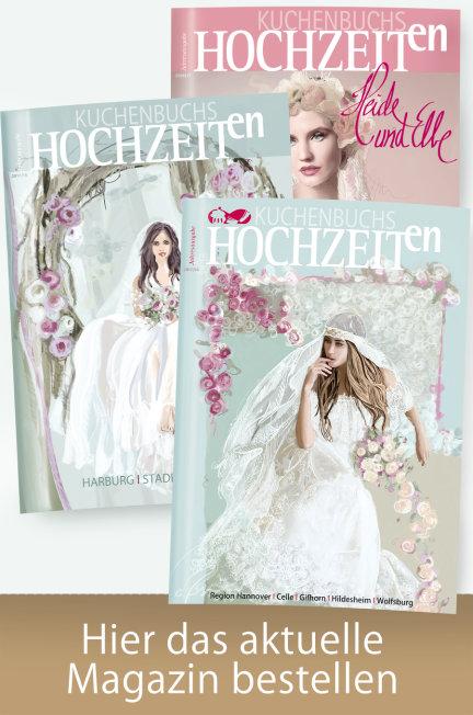 Titel Magazin Hochzeit in Niedersachsen