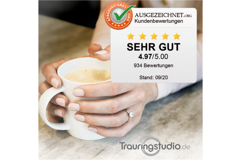 Bewertung von Trauringstudio.de